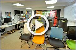 virtuální prohlídka prodejny kancelářského nábytku