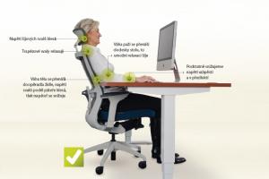 ergonomie počítačového pracoviště