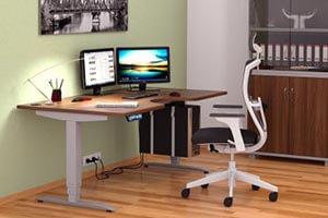 Motion výškově stavitelné stoly