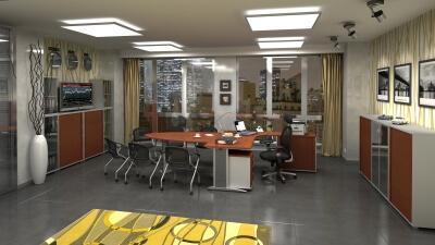 Hobis kancelářské stoly Cross